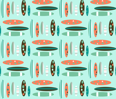 surftastic fabric by remnantsdesignstudio on Spoonflower - custom fabric