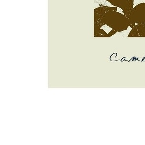 Botanical Art Today Tea Camellia 14 x 17 Inch