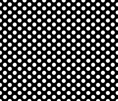 White dots on black small