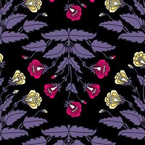 Ancient Carpet Flowers Modern Colors VI