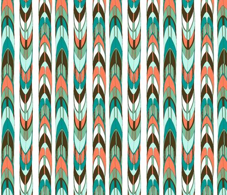 Retro Surfer Stripe fabric by gypsymothdesigns on Spoonflower - custom fabric