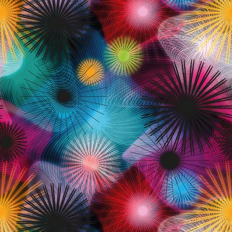 A thousand colored suns