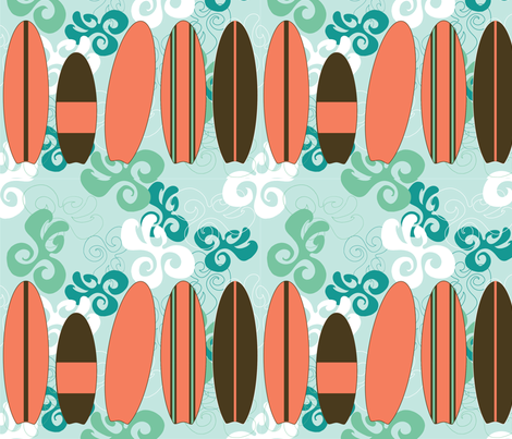 Surf-01 fabric by hollyakkerman on Spoonflower - custom fabric