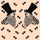 Zebra, black, champagne, animal, ellan
