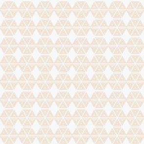 Segmented Hexies in Orange