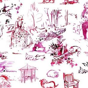 viv_OldGraneryToile sketchbook