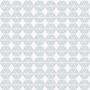 Segmented Hexies in Blue