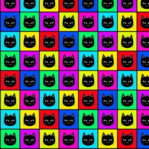 Rainbow Cat Pattern