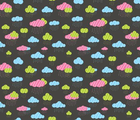 rainy day fabric by kostolom3000 on Spoonflower - custom fabric