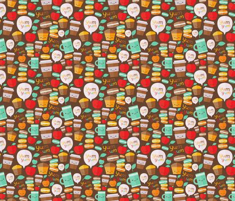 yum yum fabric by kostolom3000 on Spoonflower - custom fabric