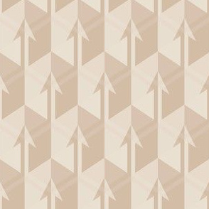 Beige Arrows Small