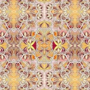 Autumn Toned Honeycomb
