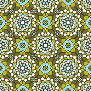 Delightful Verde Mosaic