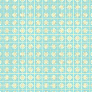 Starlight Screen - Cream on Pale Blue