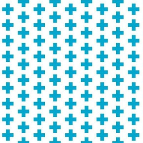 Blue Crosses