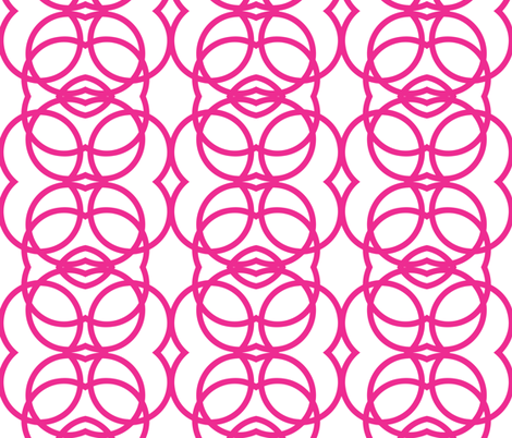 circles_pink fabric by holli_zollinger on Spoonflower - custom fabric