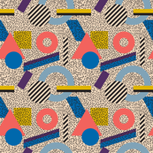 Memphis Inspired Pattern 3