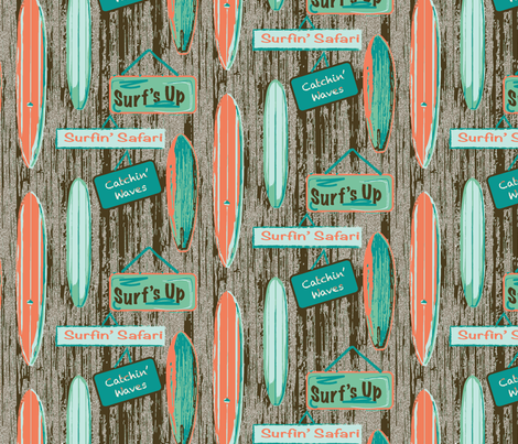 surf's up fabric by jstemps on Spoonflower - custom fabric