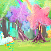 Rainbow Brite Painted Starlite