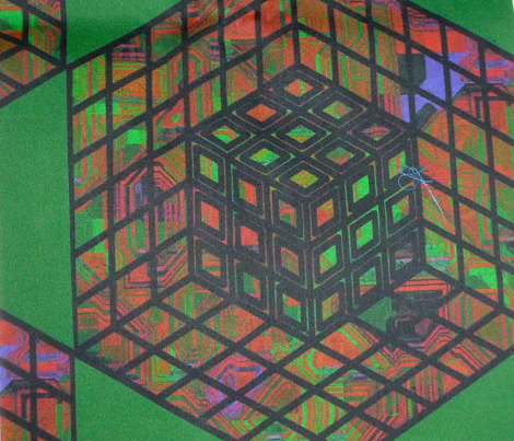 geometric cube - jewel2
