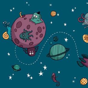 Voyage cosmique