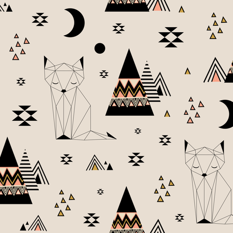 Distant Planet fabric by kimsa on Spoonflower - custom fabric