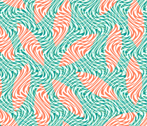 boards in the surf fabric by weavingmajor on Spoonflower - custom fabric