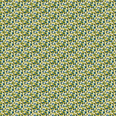 Zakari-moutarde fabric by bographik on Spoonflower - custom fabric