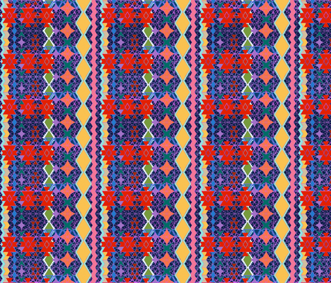 Aztec universe pattern wallpaper bloomingwyldeiris for Universe fabric