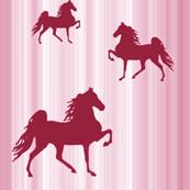 Horses-pink_stripe