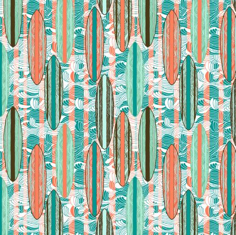 Surfer Stripe fabric by rubydoor on Spoonflower - custom fabric