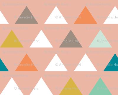 Mod Wedding Triangles