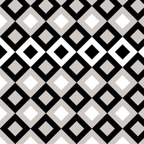 Black And Grey Squares