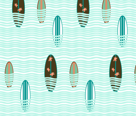 surf2 fabric by imfeelincrafty on Spoonflower - custom fabric