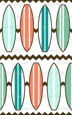 Surf Board Fabric