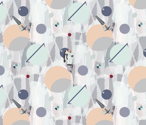 Cosmic Voyage fabric by ditsykins on Spoonflower - custom fabric