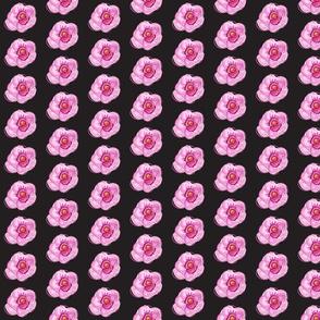 Feminine Flower-black