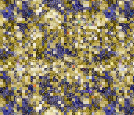 Cosmic pixel dust fabric elramsay spoonflower for Cosmic print fabric