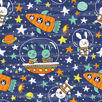 Bunnies in Space