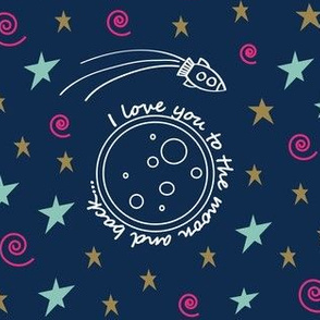 To the Moon and Back - Navy