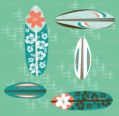 Vintage Hawaiian Surfboards