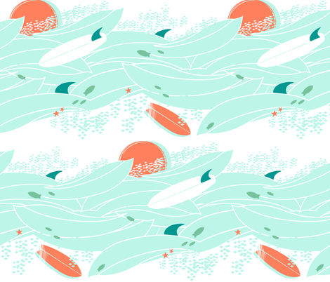 wipe out fabric by fable_design on Spoonflower - custom fabric