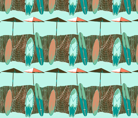 surfing2000 fabric by wren_leyland on Spoonflower - custom fabric