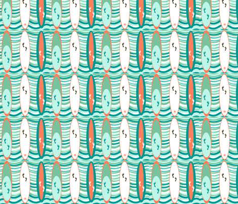 Hang 30 fabric by chovy on Spoonflower - custom fabric