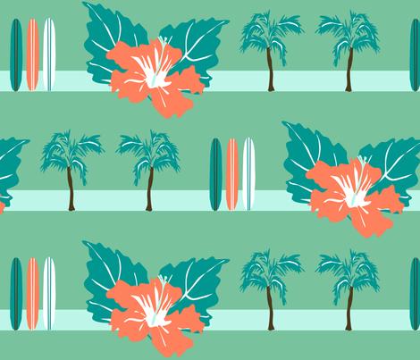 surf fabric by sarah845 on Spoonflower - custom fabric