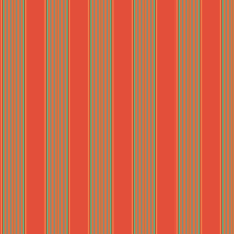 Broad Orange Stripe