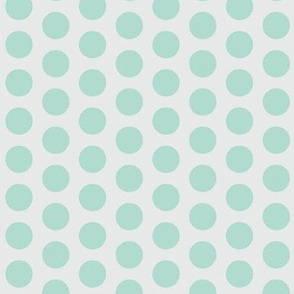 Color dots-mint-l