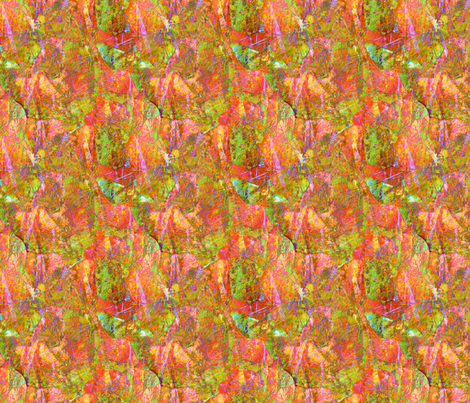 Our  Yard-grasses 2 fabric by koalalady on Spoonflower - custom fabric