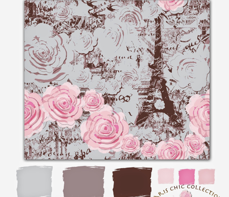 Paris Chic, Roses 'Round the Tower