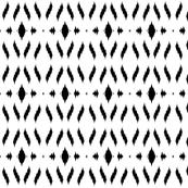 ikat aztec print